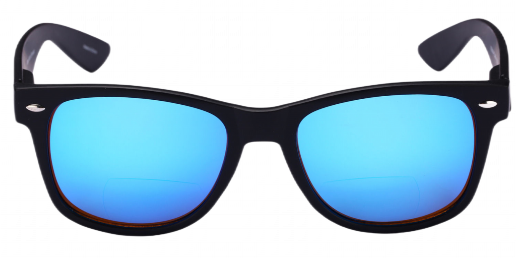 Mass-Vision-Eyewear-Lovin-Rays-Polarized-Bifocal-Sunglasses-Blue-Front