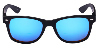 Mass-Vision-Eyewear-Lovin-Rays-Polarized-Bifocal-Sunglasses-Blue-Front