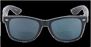 Mass-Vision-Eyewear-Lovin-Rays-Polarized-Bifocal-Sunglasses-Matte-Black-Front