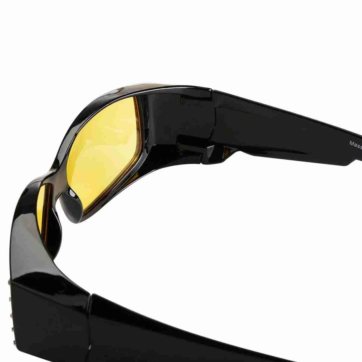 Mass-Vision-Eyewear-Rhinestone-Fit-Over-Sunglasses-Night-Lens-Black-Inside